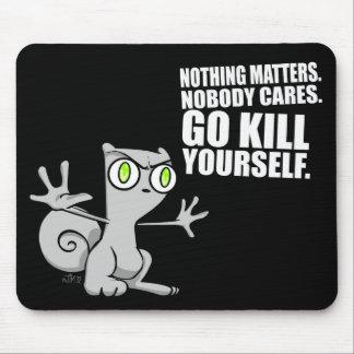 Matanza usted mismo: Mousepad espumoso