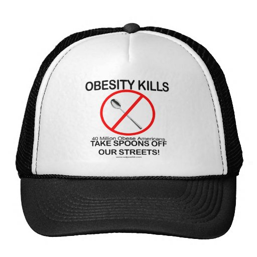 Matanzas de la obesidad gorra