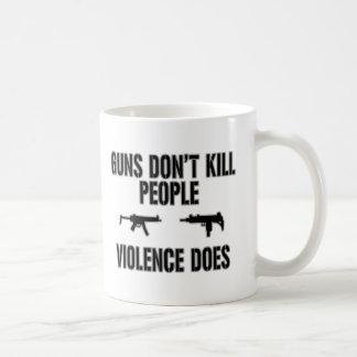 Matanzas de la violencia taza