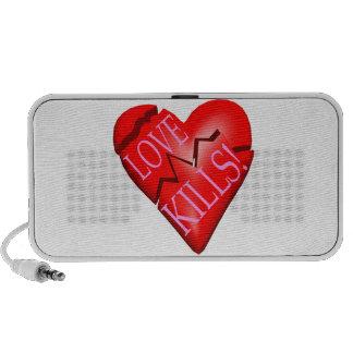 Matanzas del amor iPod altavoces