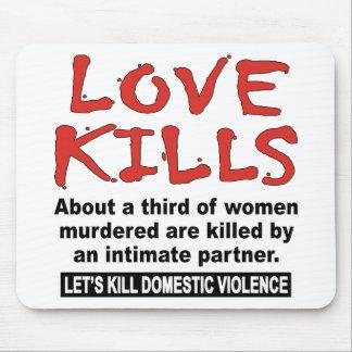 Matanzas del amor alfombrillas de raton