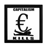 Matanzas del capitalismo caja de recuerdo