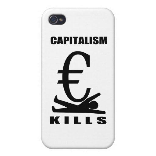 Matanzas del capitalismo iPhone 4 cobertura