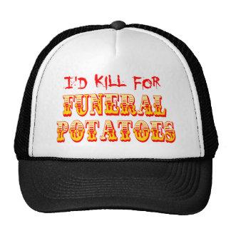 Mataría para las patatas fúnebres gorras de camionero