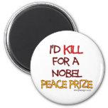 Mataría para un Premio Nobel de la Paz Iman