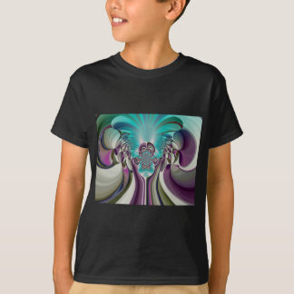 Matata Hakuna Angelic Purple Heart Custom Product T-Shirt