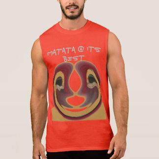 Matata @ its Best Stylish Men Ultra Cotton Sleeve Sleeveless Shirt
