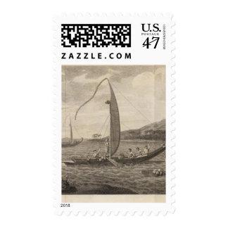 Matavia Bay, Otaheite, Tahiti 2 Stamp