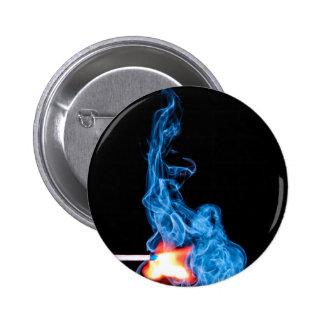 match-359970 match sticks smoke ignite fire lighte 2 inch round button
