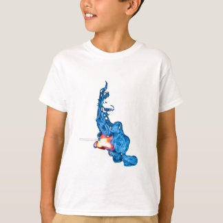 match blue T-Shirt