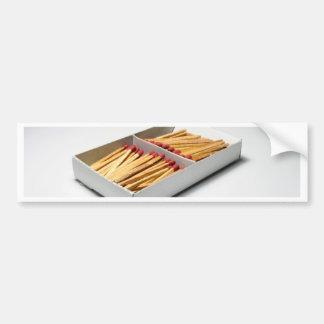 Match box bumper sticker