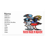 Match Made In Heaven Double-Sided Standard Business Cards (Pack Of 100)