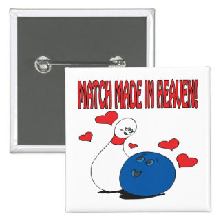 Match Made In Heaven Pinback Button