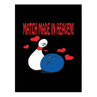 Match Made In Heaven Postcard