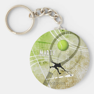 Match Point II Keychain