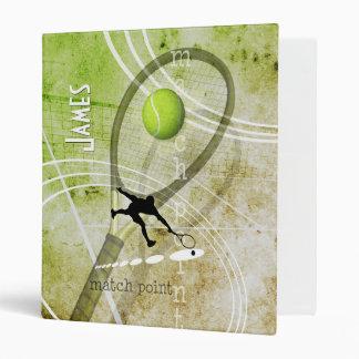 Match Point II men's tennis Binder