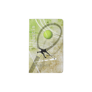 Match Point II Pocket Moleskine Notebook