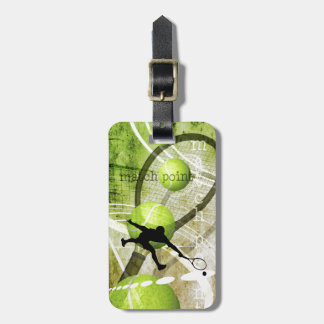 Match Point Travel Bag Tag
