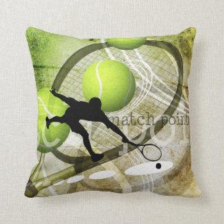 Match Point Throw Pillow