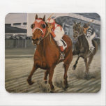 Match Race – Seabiscuit vs. War Admiral Painting Mouse Pad