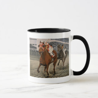 Match Race – Seabiscuit vs. War Admiral Painting Mug