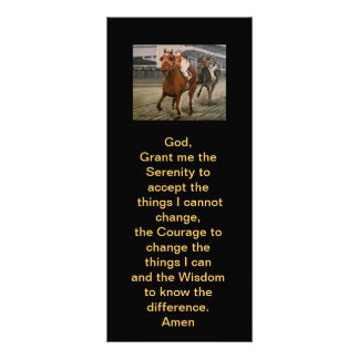 Match Race – Seabiscuit vs War Admiral Painting Rack Card