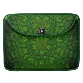 """Match Two Hex-Pent Sieve"" Mandala Macbook Case"