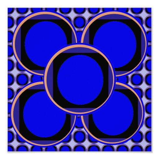 Match Wall Decorations : Circles Round Moon Disc