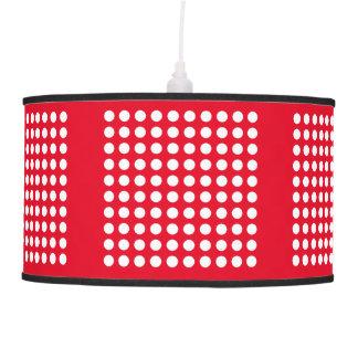 Match Your Colour, White Polka Dot Pendant Lamp