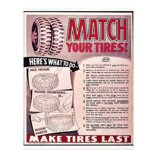 Match Your Tires! Flyer