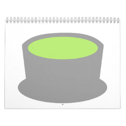 Matcha tea calendar