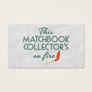 Matchbook Collector Business Card