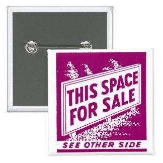 Matchbook del vintage del kitsch este espacio para pin