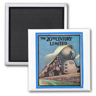"""Matchbook Magnets - """"The 20th Century Limited"""""""