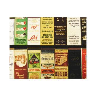 Matchbooks de Brockton Impresion En Lona