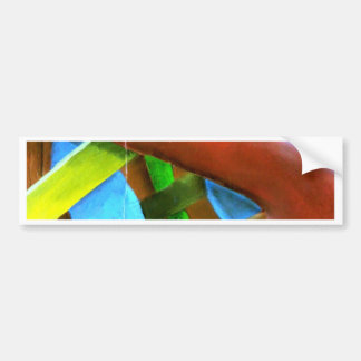 Matchbox Abstract Bumper Sticker
