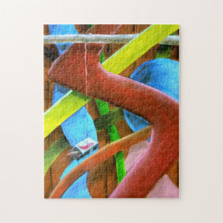 Matchbox Abstract Jigsaw Puzzle