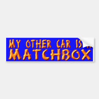 MATCHBOX BUMPER STICKER