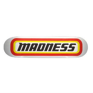 Matchbox? Madness! Skateboard Deck