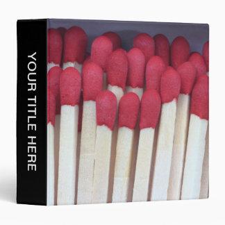 Matches 02 binder
