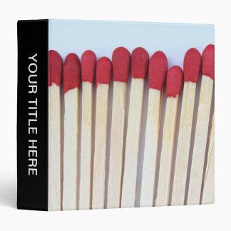 Matches 03 binder