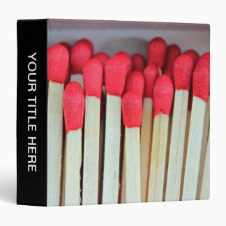 Matches Binder