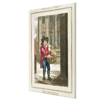 Matches, Mansion House Canvas Print