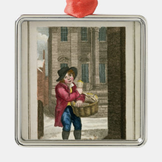 Matches, Mansion House Metal Ornament