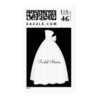 Matching Bridal Shower Postage