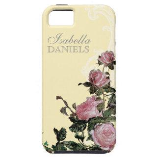 Matching Bride Bridal Gift, Trellis Rose Vintage iPhone SE/5/5s Case