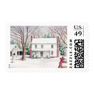 Matching Christmas Stamp for Card