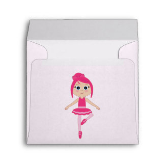 Matching Envelope: Beginner Ballerina Envelope