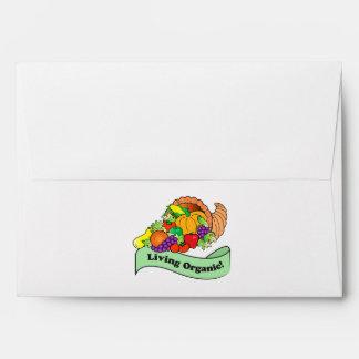 Matching Envelope: Living Organic Card Envelope