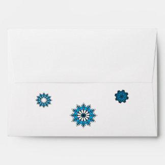 Matching Envelope: Snowflakes Non-Denominational
